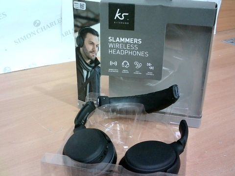 KS SLAMMERS WIRELESS HEADPHONES