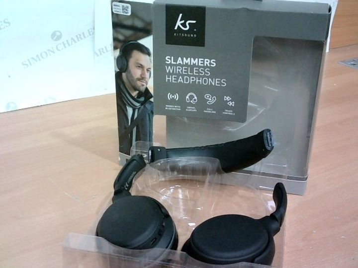 KS SLAMMERS WIRELESS HEADPHONES