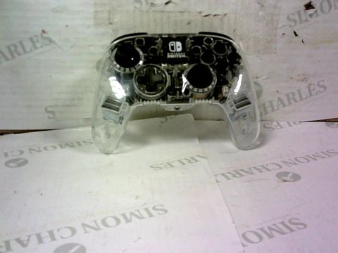 CLEAR NINTENDO SWITCH CONTROLLER