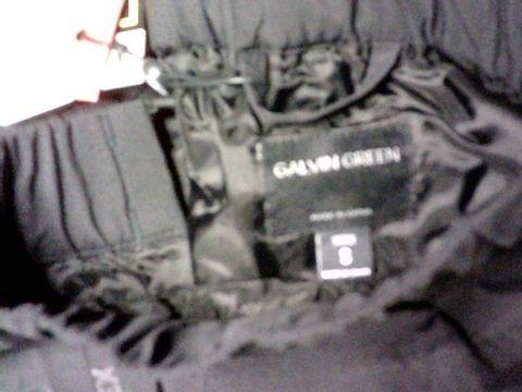 GALVIN GREEN GORTEX BLACK TROUSERS SHORT SMALL