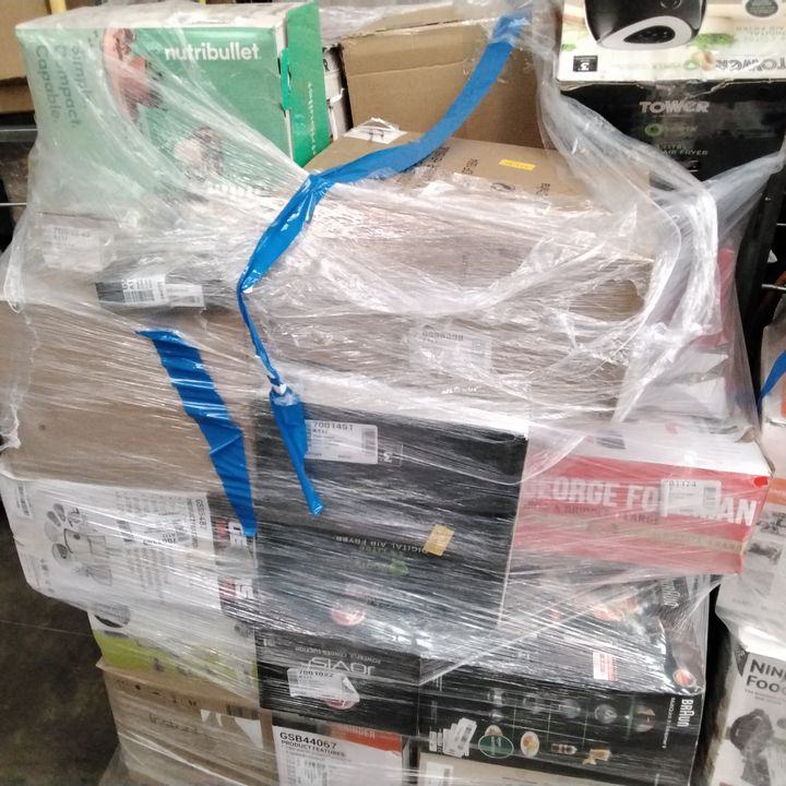 PALLET OF APPROXIMATELY 35 ASSORTED HOME ELECTRICAL ITEMS, TO INCLUDE: