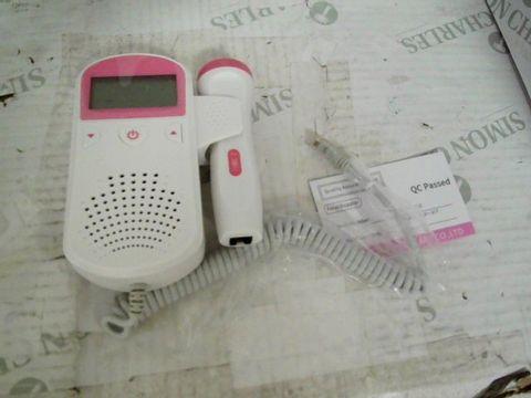 FETAL DOPPLER FETAL HEART RATE MONITOR