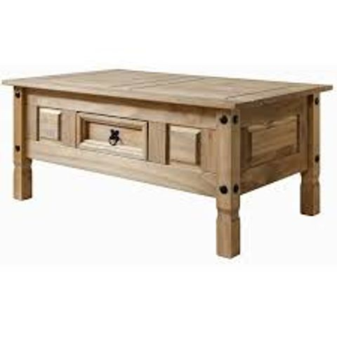 BOXED KRISTINE COFFEE TABLE WITH STORAGE (1 BOX)