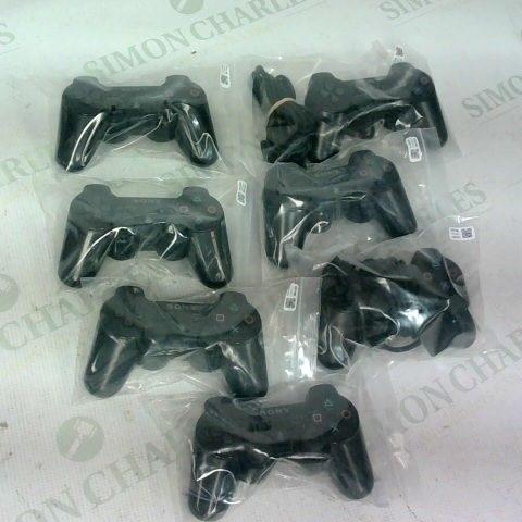 LOT OF 7 PLAYSTATION 3 CONTROLLERS