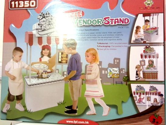BRAND NEW BOXED LITTLE VENDOR STAND