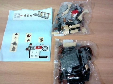 LEGO 75955 HARRY POTTER HOGWART'S EXPRESS INCOMPLETE
