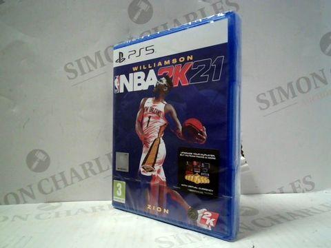 NBA 2K21 PLAYSTATION 5 GAME