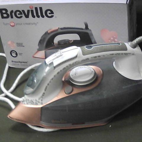 BREVILLE VIN407 PRESSXPRESS STEAM IRON