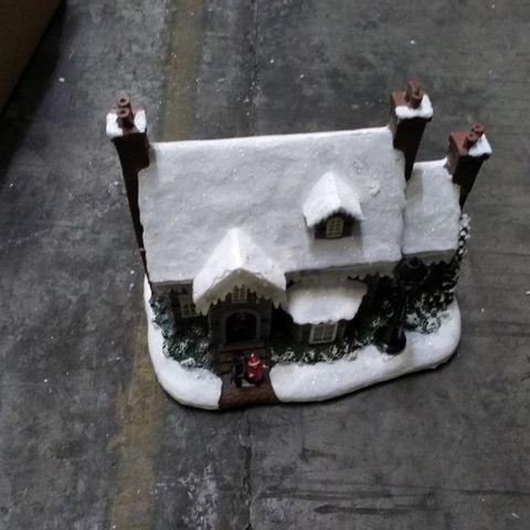 FESTIVE 27CM LED CHRISTMAS HOUSE DECORATION