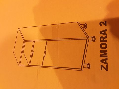 BOXED BRAND NEW ZAMORA 2 BATHROOM CABINET WITH DRAWER