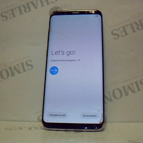 SAMSUNG GALAXY S8 ANDROID SMART PHONE