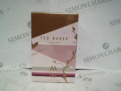 TED BAKER LONDON EDT - 75ML - BRAND NEW SEALED