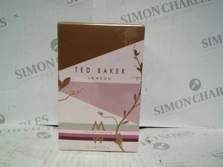 TED BAKER LONDON EDT - 75ML - BRAND NEW SEALED