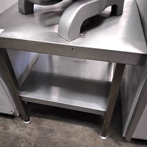 COMMERCIAL METAL LOW TWO TIER STAND