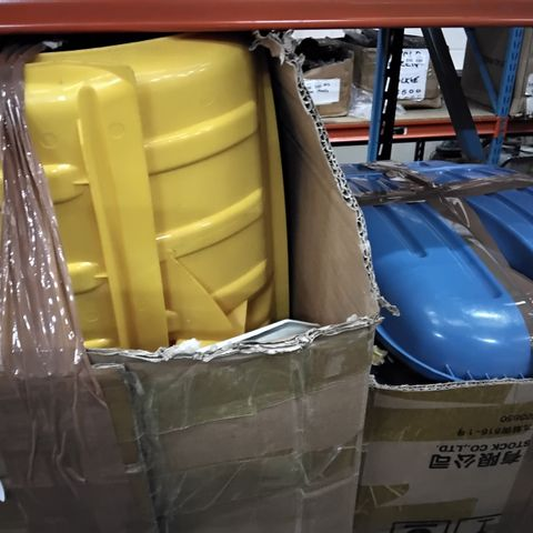 2 BOXES OF ASSORTED PLASTIC SHOVEL HEADS