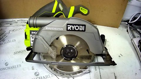 RYOBI ONE+ 18V CORDLESS BRUSHLESS CIRCULAR SAW
