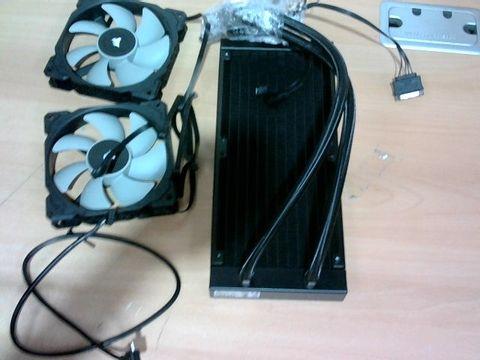 CORSAIR ICUE H100I PRO XT RGB AOI LIQUID CPU COOLER