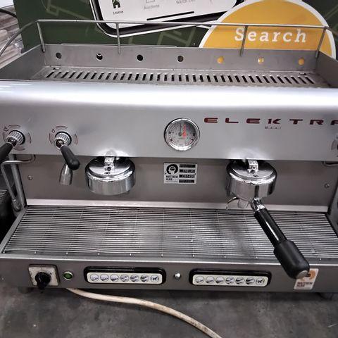 ELEKTRA 2 GROUP BARRISTA COFFEE MACHINE