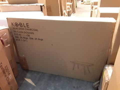 BOXED GRADE 1 SILAS CHARCOAL DESK (1 BOX)