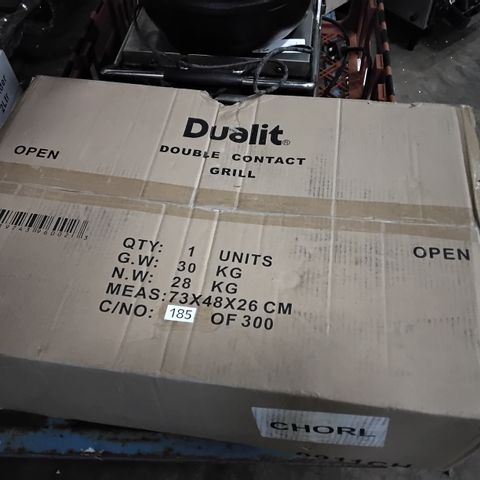 BOXED DUALIT DOUBLE CONTACT GRILL