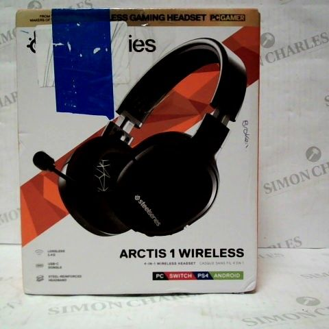 BOXED STEELSERIES ARCTIS 1 WIRELESS HEADSET