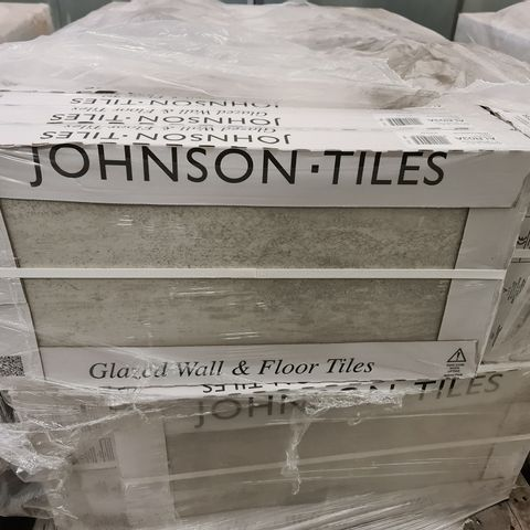 PALLET OF APPROXIMATELY 40 BRAND NEW CARTONS OF 5 BRAND NEW ASHLAR CRAFTED GREY TEXTURED TILES - 60X30CM