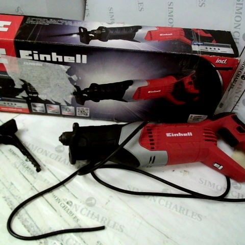 EINHELL 4326141 ALL-PURPOSE SAW TC-AP 650 E 650 W, 500 - 3000 MINUTE CARET -1 NUMBER OF STROKES, 150 MM CUTTING DEPTH, TOOLLESS BLADE CHANGE , RED