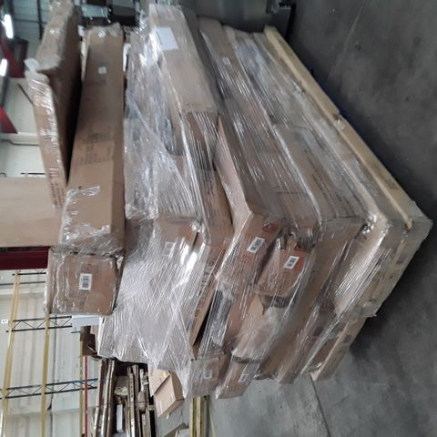 PALLET OF ASSORTED FLAT PACK FURNITURE/PARTS