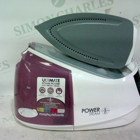 MORPHY RICHARDS 333301 POWER INTELLITEMP STEAM GENERATOR, LILAC AND WHITE