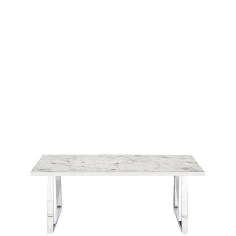IVY MARBLE EFFECT RECTANGLE COFFEE TABLE