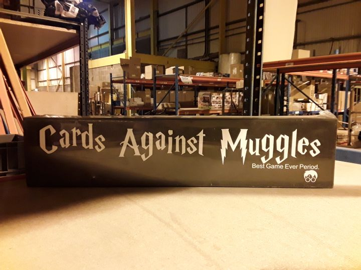 CARDS AGAINST MUGGLES CARD GAME