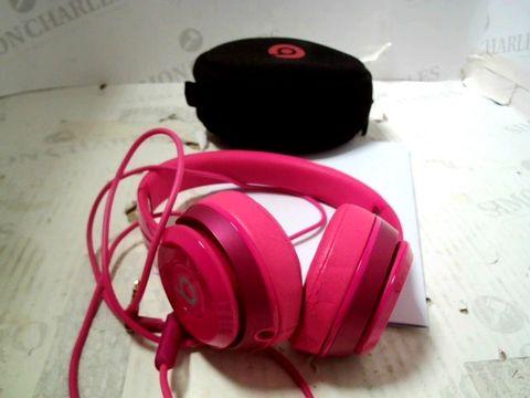 BEATS SOLO ON EAR HEADPHONES