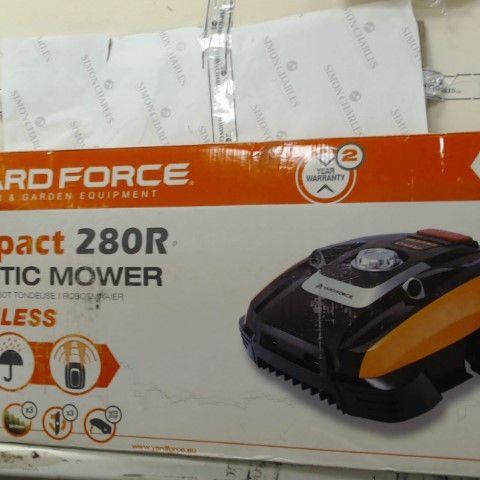 YARD FORCE COMPACT 280R ROBOTIC LAWNMOWER