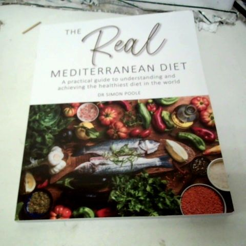 APPROXIMATELY 16 COPIES OF DR SIMON POOLE THE REAL MEDITERRANEAN DIET BOOKS