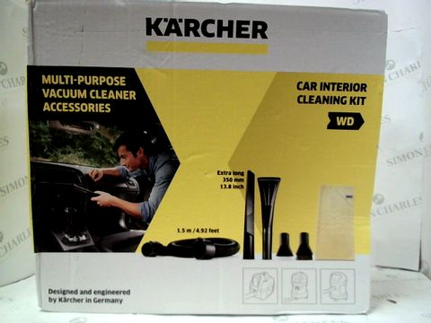 KARCHER MULTI-PURPOSE VACCUM CLEANER ACCESSORIES