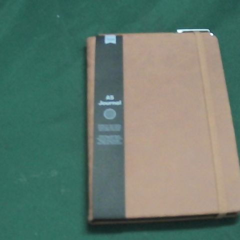 TYPO A5 LEATHER BOUND JOURNAL