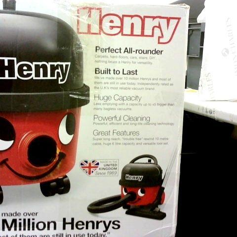 HENRY HOOVER 160-11 BAGGED CYLINDER VACUUM CLEANER