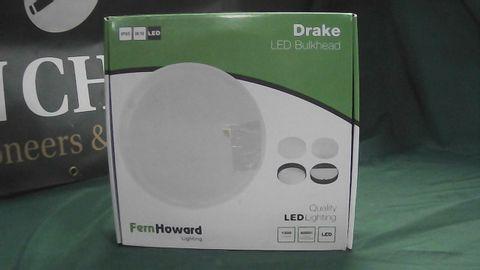 FERN HOWARD LIGHTING DRAKE LED BULKHEAD IP65 IK10