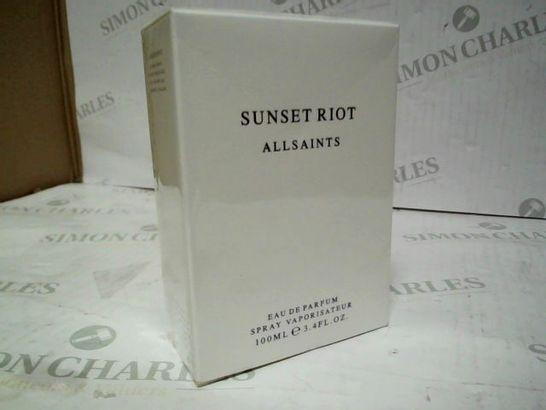 SEALED ALLSAINTS SUNSET RIOT EDP 100ML