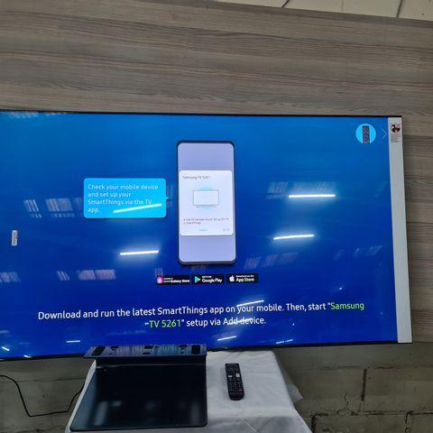 SAMSUNG QE65Q90TAT 65 INCH QLED 4K HDR SMART TELEVISION