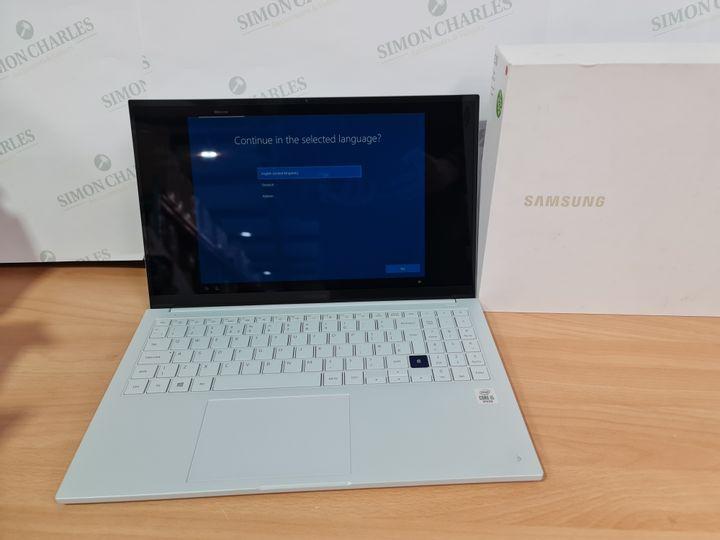 SAMSUNG GALAXY BOOK ION 15.6 INCH LAPTOP, INTEL CORE 15 10210U, 8GB RAM, 512GB SSD - AURA SILVER