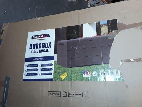 DURAMAX CEDARGRAIN DURABOX 416 LITRE OUTDOOR PLASTIC DECK BOX