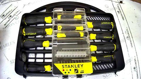 STANLEY SCREWDRIVER SET STHT0-62143