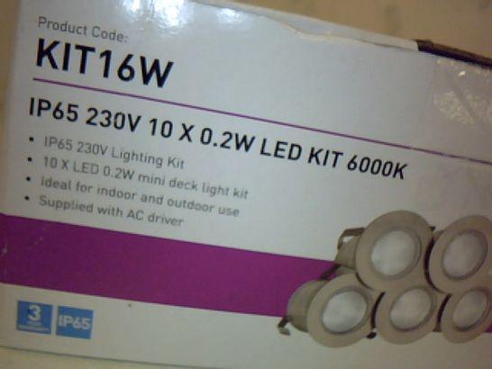 KNIGHTSBRIDGE KIT16W IP65 230V LED KIT