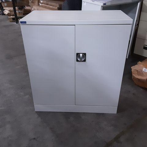 METAL 2 DOOR OFFICE CABINET-92CM X 46CM X 112CM