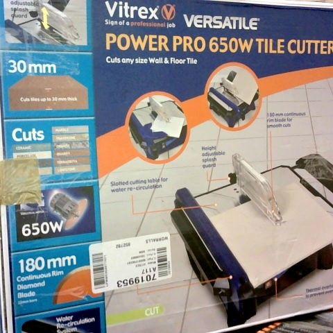 VITREX POWER PRO 650W TILE CUTTER