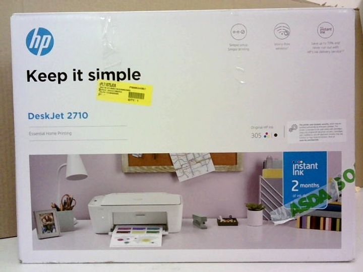HP DESKJET 2710 ALL IN ONE PRINTER