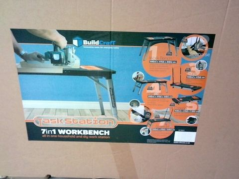 BOXED TASKSTATION BUILDCRAFT 7IN1 ALL IN ONE WORKBENCH