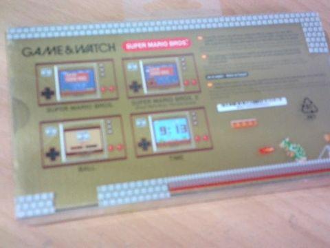 Nintendo: Game and Watch Super Mario Bros Game