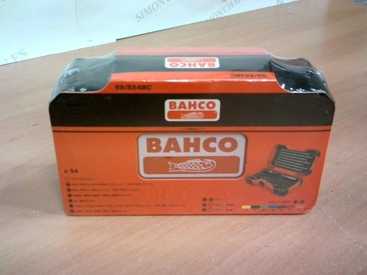 BOXED SEALED BAHCO TOOL SET